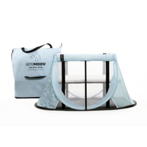 Best Sellers AeroMoov Portacot Travel Cot in Blue Mountain