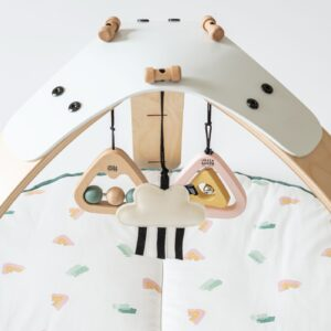 Playgyms PRE ORDER   By Sofie Hanging Toys in Rainbow Mountain